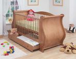 Product image for Tutti Bambini Louis Sleigh Cot Bed