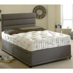 Product image for Bedmaster Signature Silver 1400 Divan Set