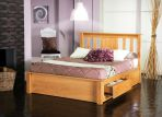 Product image for Limelight Vesta Wooden Bed Frame