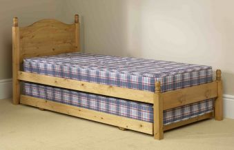 Friendship Mill Wooden Guest Bed And Mattresses