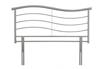 Serene Waverly Metal Headboard