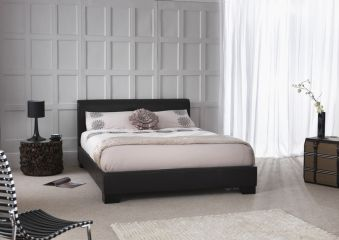 Serene Parma Faux Leather Bed Frame