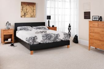 Serene Tivoli Faux Leather Bed Frame