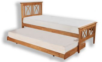 Eco Furn Meadow Wooden Guest Bed