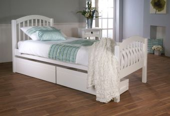 Limelight Despina Wooden Bed Frame With Drawer Option
