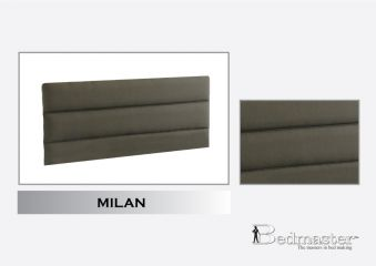Bedmaster Signature Silver Milan Upholstered Headboard