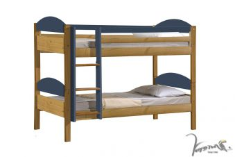 Verona Maximus Pine Wooden Bunk Bed