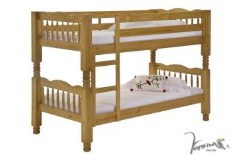 Verona Trieste Wooden Bunk Bed