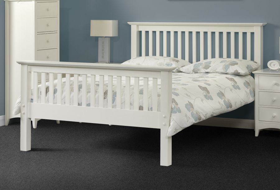 White Wood Bed 28 Images Home Decorating Pictures White Wood Bed Frame Double Home