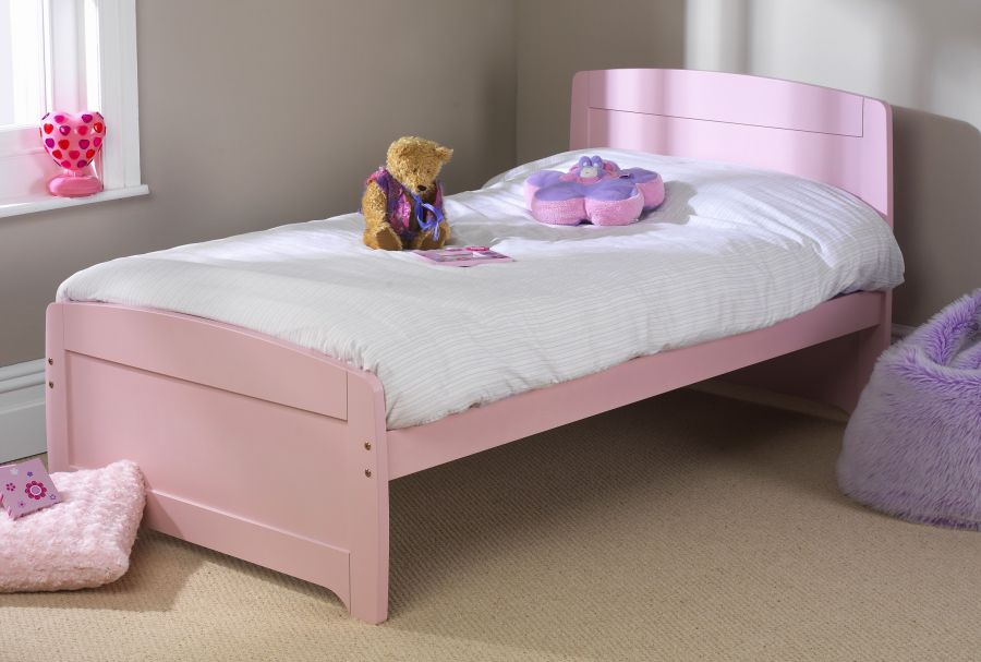 Childrens Beds Friendship Mill Pink Rainbow Bed Pink