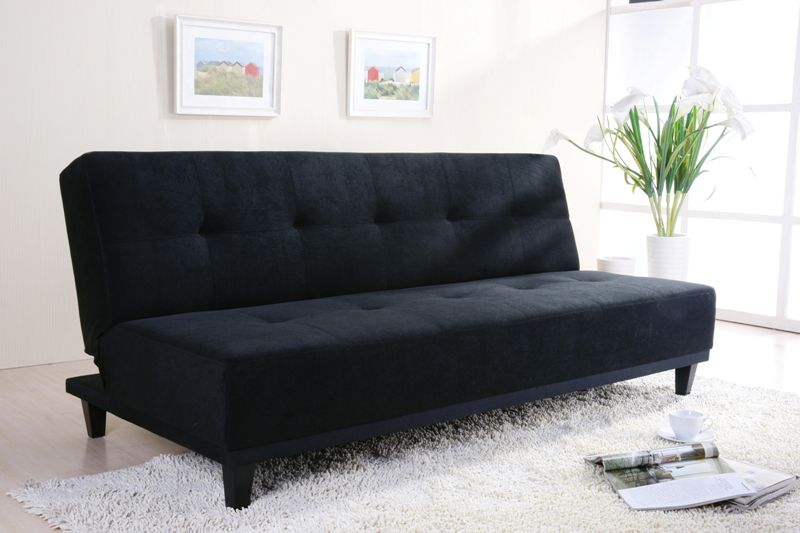 sofa beds on Sofa Beds   Joseph Beco Sofa Bed   Black Suede Sofa Beds For Sale