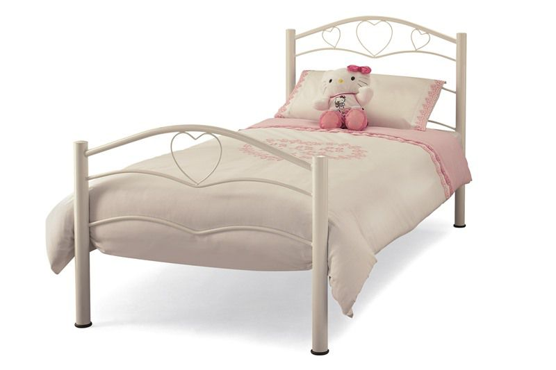 Childrens beds serene yasmin childrens bed frame click for Childrens iron beds