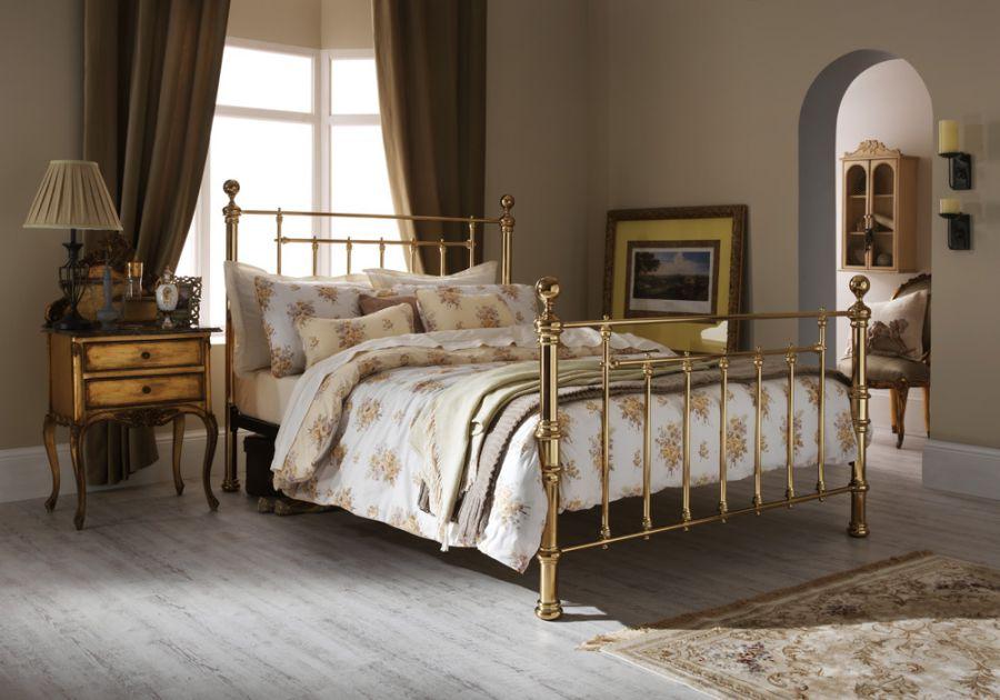 Metal Beds Serene Benjamin Metal Bed Frame Click 4 Beds