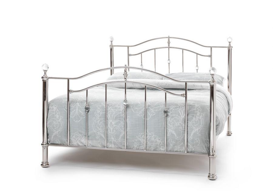 Metal Beds Serene Ashley Metal Bed Frame Click 4 Beds