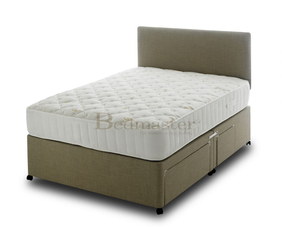 Divan beds bedmaster ultimate ortho 1400 pocket divan for Bed master