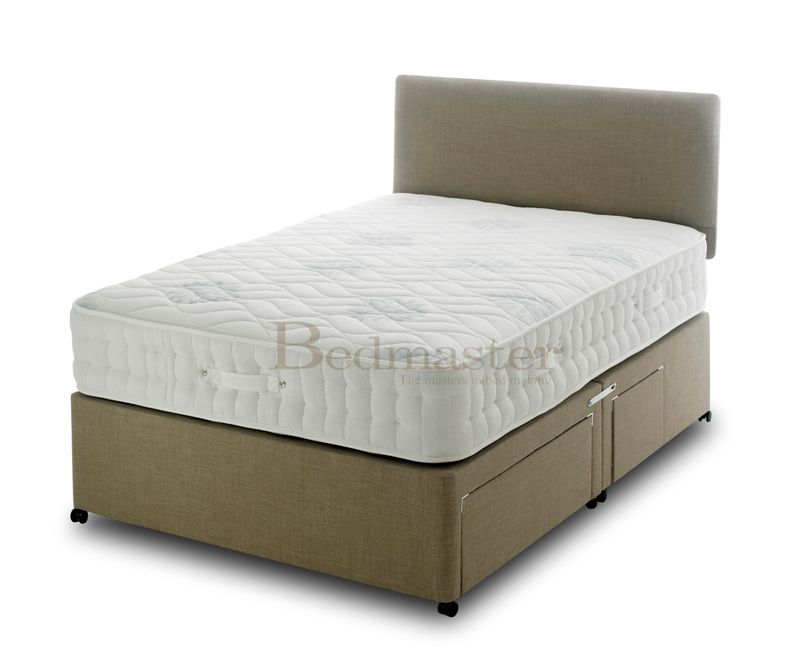 Vogue oasis 1000 pocket memory foam divan bed mattress sale for Memory foam double divan bed sale