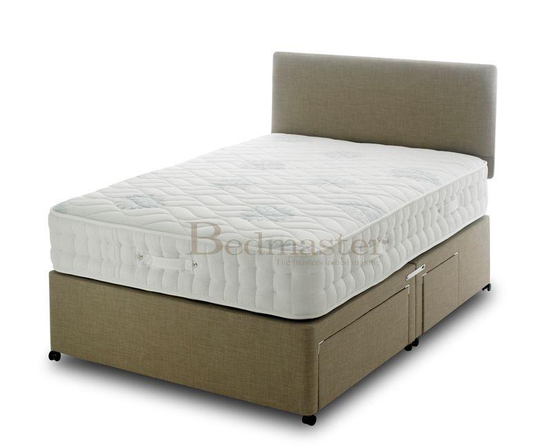 Vogue oasis 1000 pocket memory foam divan bed mattress sale for Memory foam divan beds sale