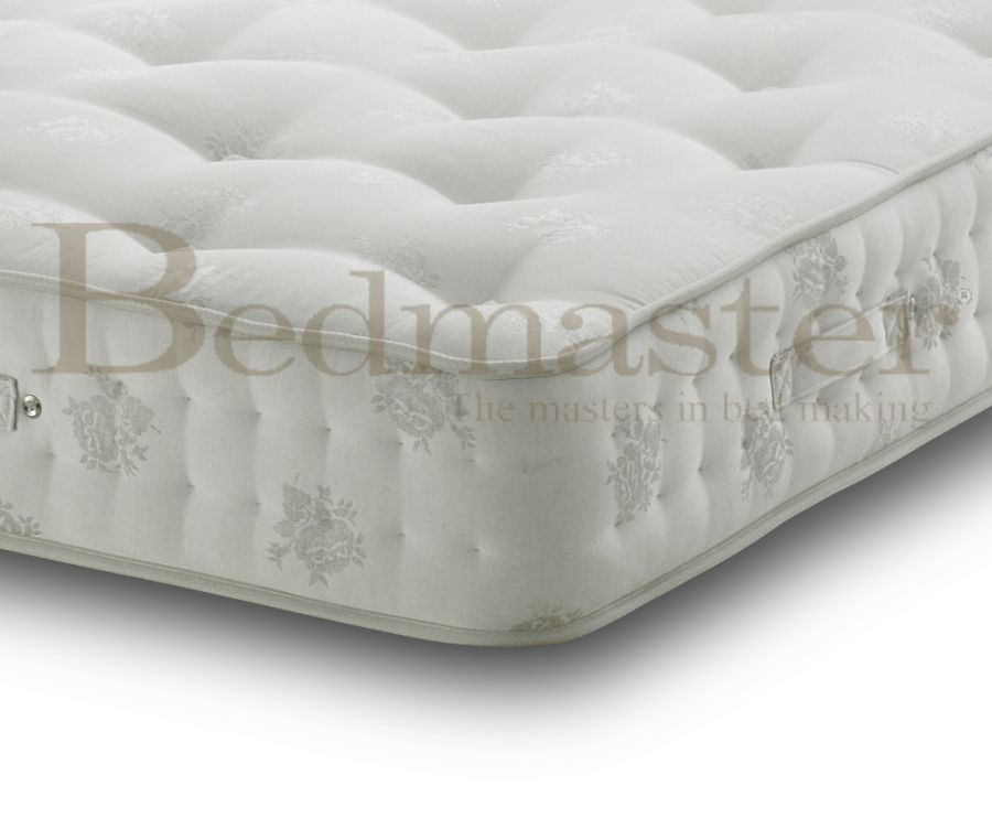 Pocket sprung mattresses bedmaster signature silver 1400 for Bed master