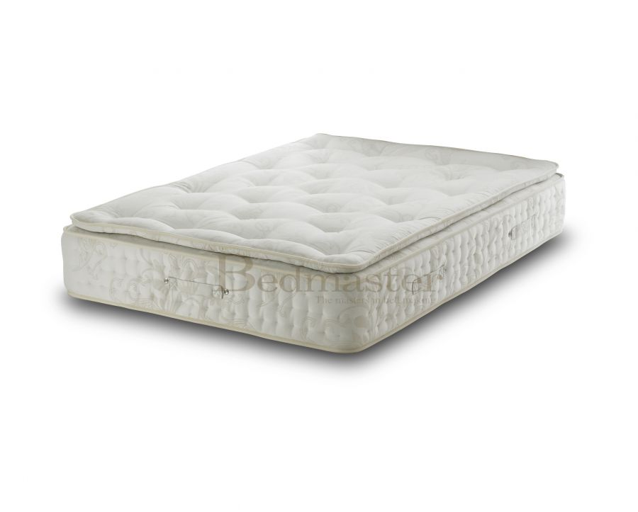 Pocket sprung mattresses bedmaster signature 2000 pillow for Bed master
