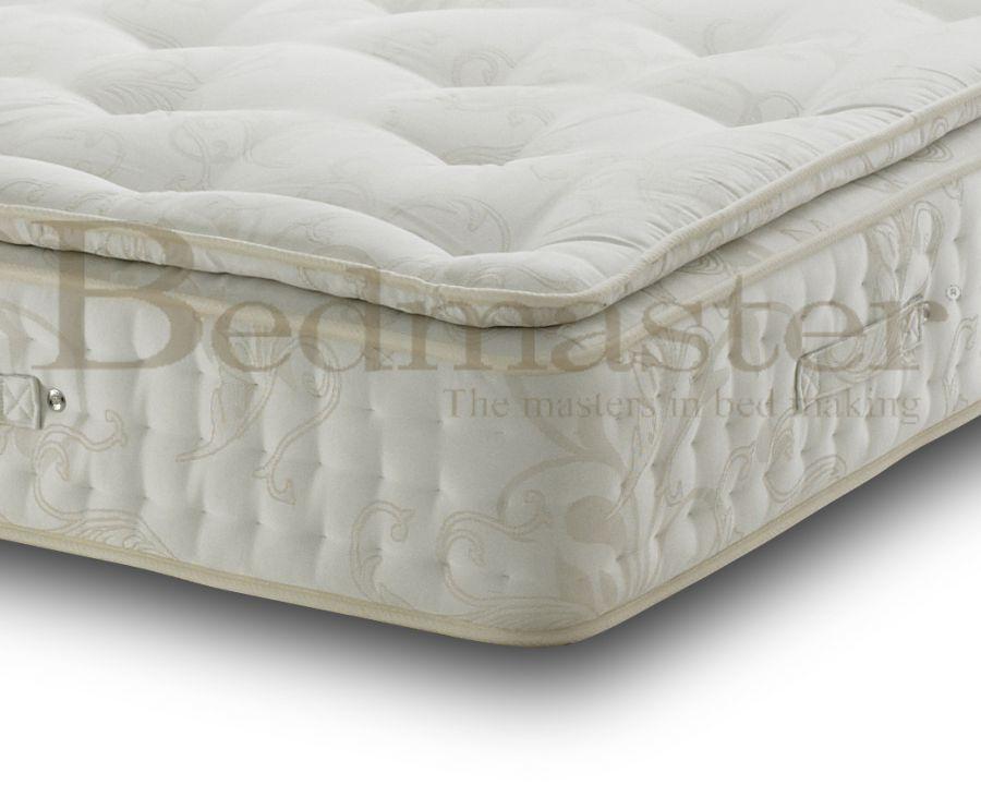 Pocket sprung mattresses bedmaster signature 2000 pillow for Bed master