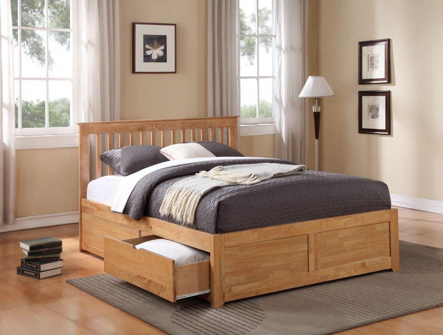 Storage Beds Flintshire Furniture Pentre Wooden Bed With