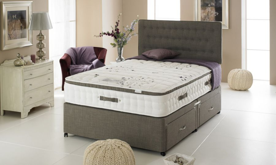 Mattresses bedmaster amethist crystal mattress click 4 for Bed master